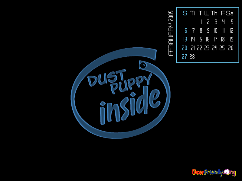 Dust Puppy Inside